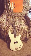 Kramer bass guitar with hard case. Custom