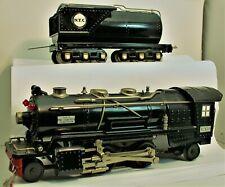 MTH 263E locomotive & tender O GAUGE  No Box C7  2-4-2 WITH 12 WHEEL TENDER