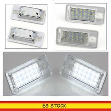 7222 Blancos Luces de Matrícula LED para Mercedes W203 A209 C209 R230 SLR 199