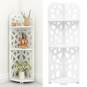 3 Tier Corner Cabinet Shower Caddy Bathroom Storage Shelf Rack Display Stand UK
