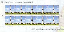Leuchttürme auf Briefmarken 1 Zehnerbogen Kampen 2016 Mi.-Nr. 3253 neu