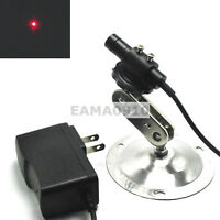Focusable 650nm 20mW Dot Red Laser Light Diode Module 12x55mm w/Adapter & Holder