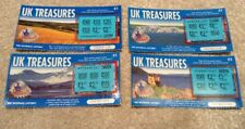 Vintage National Lottery Scratch Cards - 4 x UK Treasures. 6th Issued Design