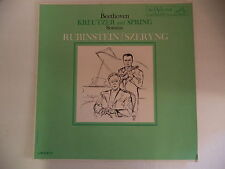 "RUBINSTEIN / SZERYNG ~ BEETHOVEN ""Kreutzer & Spring""~ RCA ~ LM-2377  SHADED DOG"