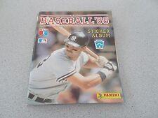 PANINI 1988 BASEBALL  STICKER ALBUM