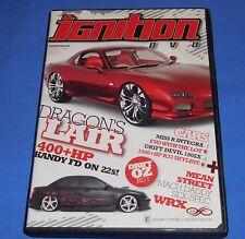2008 Ignition DVD Dragons Lair Edition 31 PAL 2 Hrs Motor Cars Drift Oz Rnd 1