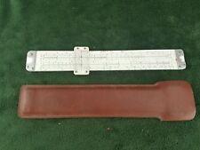 Vintage ACUMATH Slide Rule No 1311 Log Log Decimal,Trig