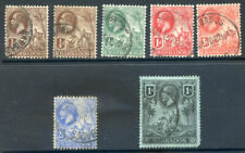 rbados 1912-1916 values to 1sh used with slight faults (2020/03#23#08)