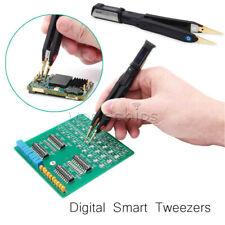 Mini Digital Smart Tweezers Lcr Meter Signal Generator Debugging Reparing Dt71