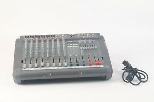 Dynacord PM 600-2 Powermate 600 2x300 Watt Betrieben Mixer W / Strom Kabel -