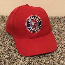 Spokane Chiefs Hockey Mens Hat Cap Adjustable Red EUC