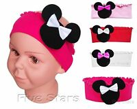 New Baby Toddler Kid Girl Headband Cotton Hairband Minnie Mouse Hair Band