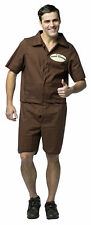 Mr Cooter Beaver Grooming J Adult Costume Brown Jumpsuit Halloween Rasta Imposta