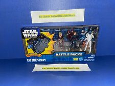 Star Wars The Clone Wars Figures Ahsoka Tano, Anakin Skywalker,Cad Bane's Escape
