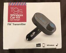 T9S Car Kit Mp3 Player Wireless Bluetooth Fm Transmitter Modulator Usb Charger