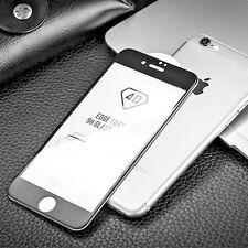 New 4D Fully Curved Black Tempered Glass Screen Protector For iPhone 7 iPhone 8
