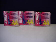 Lot of 9 EUREKA VACUUM BAGS Style AA 3 Dust bags with 1 Micron Filter 58236
