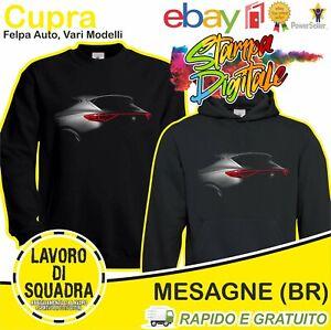 Felpa - Seat Cupra - Formentor Ateca Leon Regalo Car Italian Automobile Auto DTG
