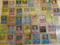 1x Vintage Pokemon Card LOT: 1999-2002: All holo rare's - 1st Ed. / Shadowless