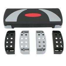 "30"" Aerobic Step Aerobics Trainer Adjustable Exercise Fitness Workout Stepper"