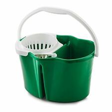 Libman 2112 Clean and Rinse Bucket with wringer, 4 Gallon