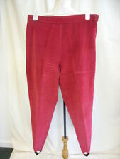 Cotton Blend Tapered Regular Size 30L Trousers for Women