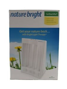 Nature Bright Sun Touch Plus Light and Ion Therapy Lamp