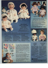 1977 PAPER AD Ideal Baby Chrissy Black Doll Little Karee Stellina Nanette