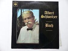 ALBERT SCHWEITZER BACH   CBS 72325