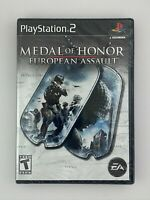Medal of Honor: European Assault - Playstation 2 PS2 Game - New Sealed