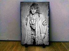 "02 Jon Bon Jovi Sketch Art Portrait on Slate 12x8"" Rare memorabilia collectables"