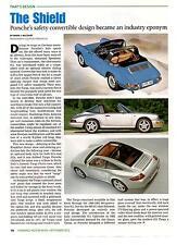 PORSCHE'S SAFETY CONVERTIBLE DESIGN ~   NICE 2012 ARTICLE / AD