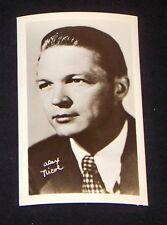 Alex Nicole 1940's 1950's Actor's Penny Arcade Photo Card