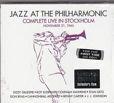 JAZZ AT THE PHILHARMONIC - complete live in stockholm 21/11/1960 3 CD