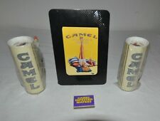 Camel Cigarette Golf Ball Packs x2 and Advertisement Display Card and Match Book