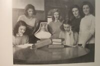 ANTIQUE OLD YEARBOOK DAMOZEL 1946 COLLEGE OF NOTRE DAME OF MARYLAND GIRLS SCHOOL