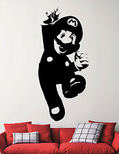 Super Mario Vinyl Sticker Video Game Wall Decal Nintendo Art Nursery Decor 6eedc