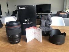 Canon RF 50mm f/1.2L USM Lens - Mint USA Model