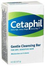 Cetaphil Gentle Cleansing Bar for Dry/Sensitive Skin 4.50oz Each
