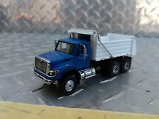 1/64 ERTL custom blue cab ih workstar greenlight dump truck farm toy spec cast