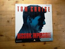 Mission Impossible Widescreen Laser Disc PLFEB 35741 PAL Tom Cruise