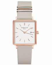 City Beach Rosefield The Boxy Leather Watch