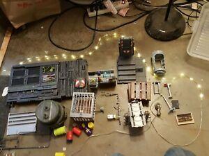 Gi joe zombie Lab for 4 inch Figures custom Diorama  Guns Technology