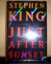 Just After Sunset by Stephen King (2008, Scribner 1st ed HC) VG/Like New!
