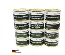 German Armed Forces - READY TO EAT - Ration in CAN - 12x pieces
