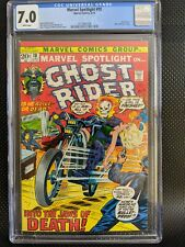 Marvel Spotlight #10 CGC 7.0 WP EARLY GHOST RIDER APPEARANCE