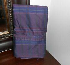 Stunning RALPH LAUREN RUTHERFORD PARK Purple plaid STANDARD Pillowcases