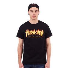 Thrasher - Flame T-Shirt Black