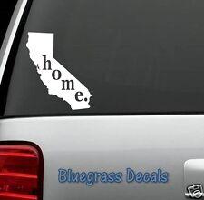 E1004 CALIFORNIA HOME STATE Decal Sticker Car Truck SUV Van LAPTOP MIRROR WALL