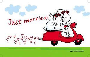 GILDE BRETTCHEN Just Married! - 45290 - BxT: ca.  23 cm x 14 cm